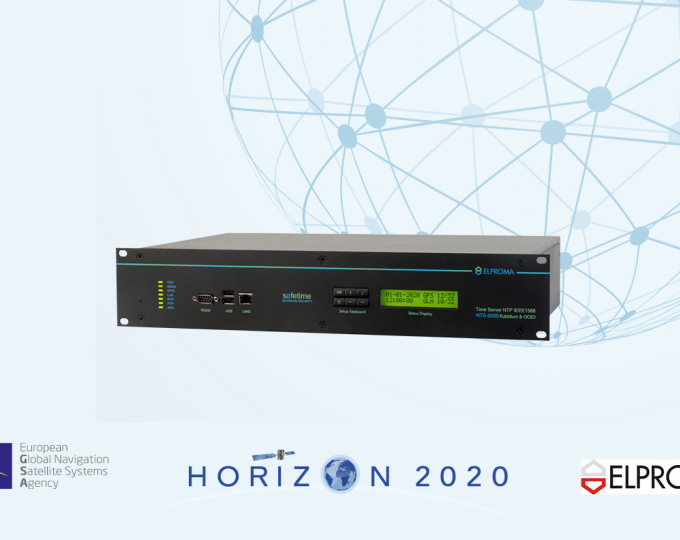 Safe Time represents a special version of the ELPROMA Rubidium NTS-5000 Time Server powered by Horizon 2020 DEMETRA TSI#2 technology
