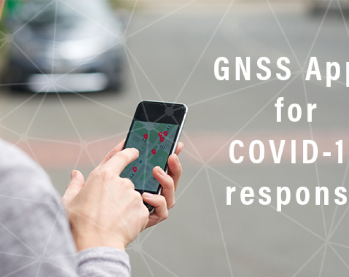 Apps leveraging GNSS precise positioning can be used to effectively track and map the spread of the virus.