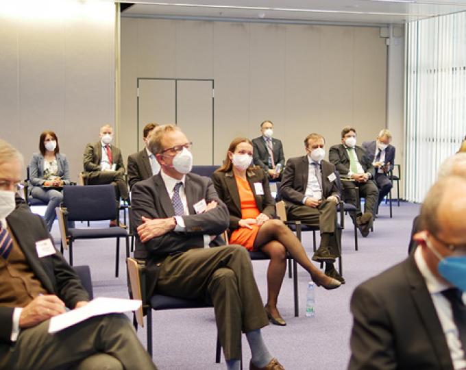 EU Ambassadors visited EUSPA on May 26