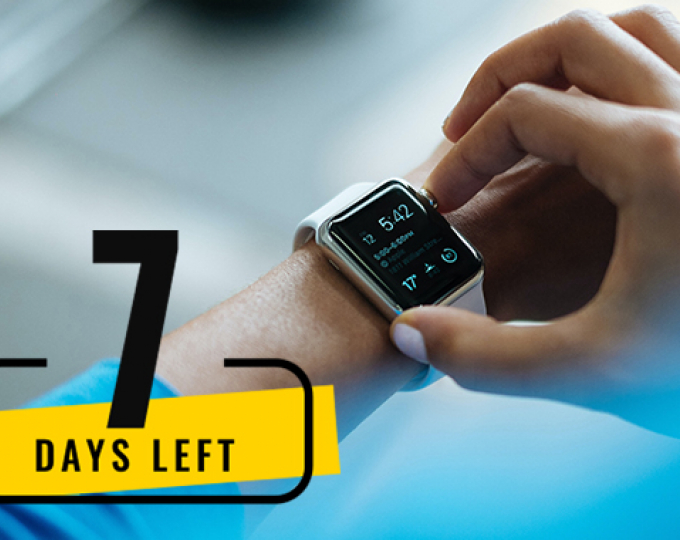 Only 7 days left to submit your application to MyGalileoDrone Competition. Don't miss your chance to win €100.000