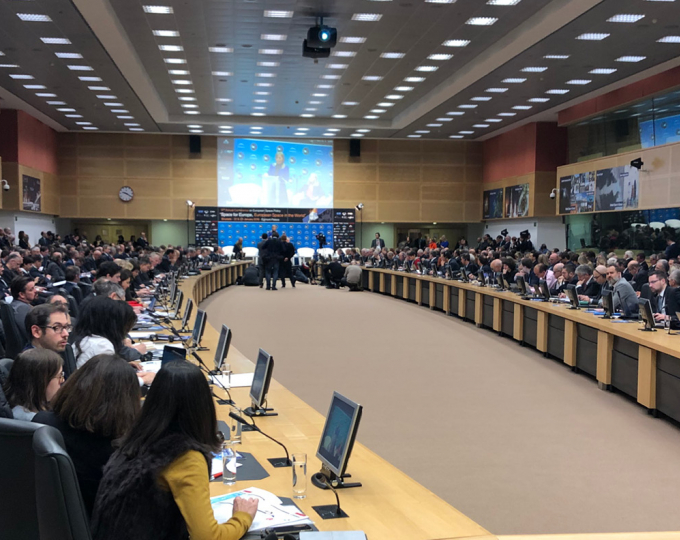 Participants in the European Space Policy Conference heard how Galileo is a cornerstone of the strategy for a European Single Digital Economy