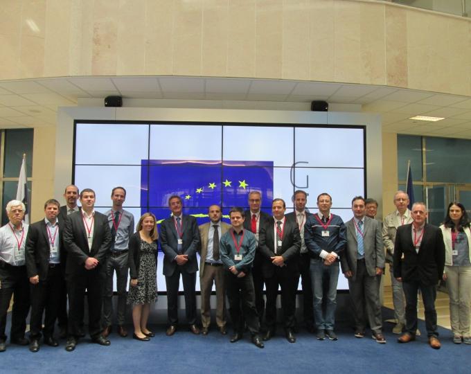 Next Generation Train Control  workshop participants
