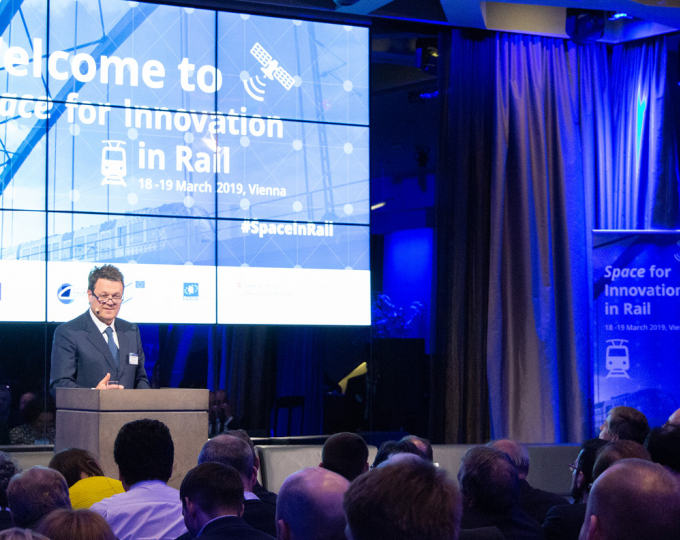 Space for Innovation in Rail highlighted the important role of satellite-based positioning technology for the future of the rail sector.