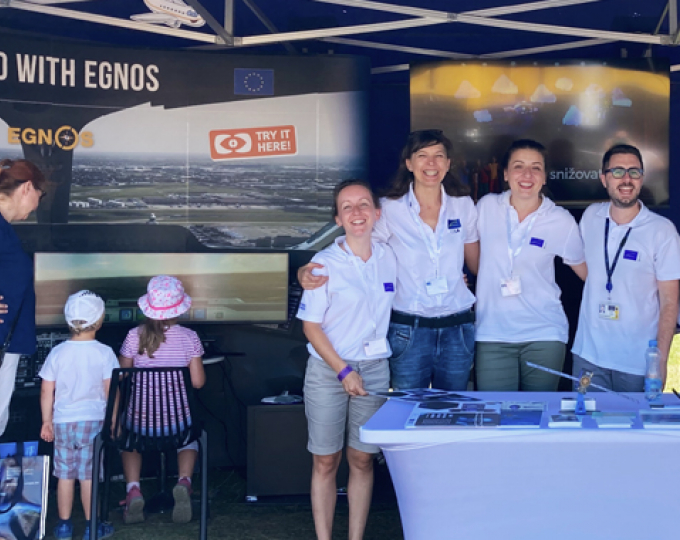 Thanks for flying with the GSA crew to Prague's EGNOS-enabled airport! We hope to see you soon again!