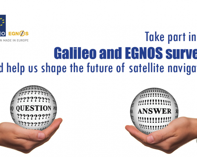 Give us your feedback and help shape the Galileo and EGNOS services of the future